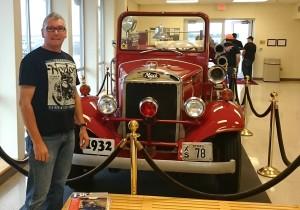 Mack fire truck 1932